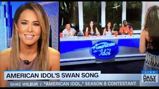 Shae Wilbur on HLN talking American Idol