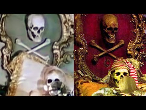 Were There Real Skeletons At Disneyland?
