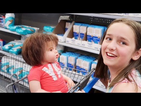 Shopping with Reborn Toddler Doll Kennedy for Baby and Kid Supplies at Walmart