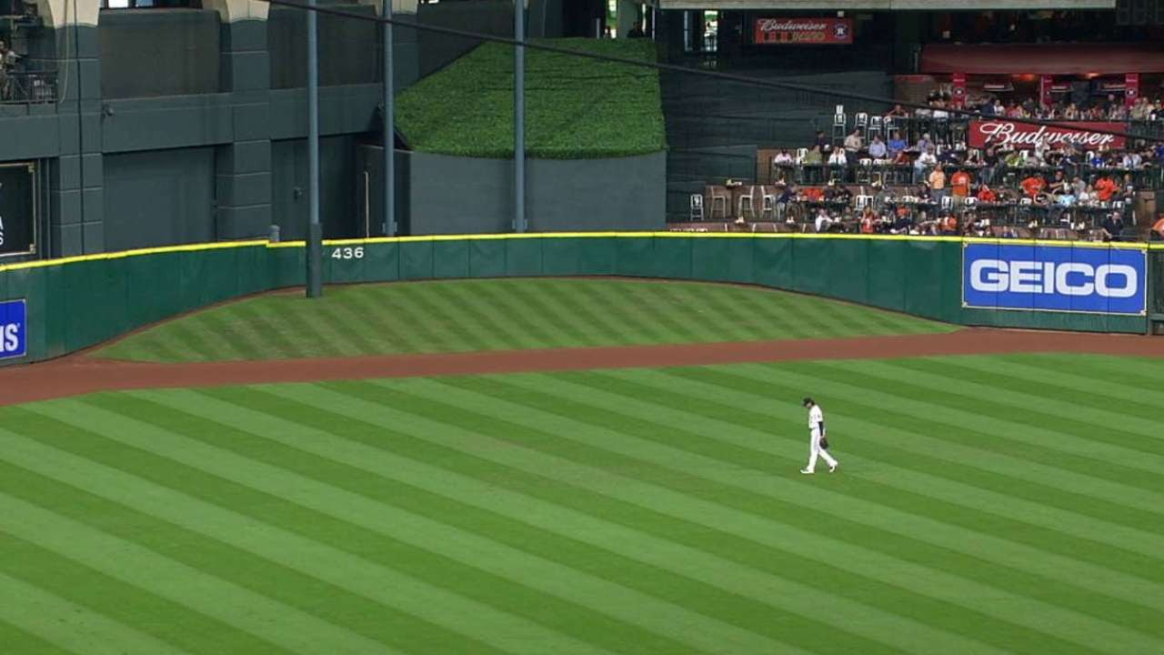 Sea Hou Tal S Hill S Final Game At Minute Maid Park Youtube