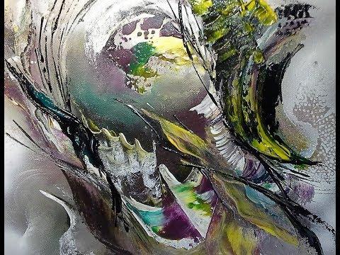 Abstraktes Malen-Abstract Art Painting-Devotion / V90