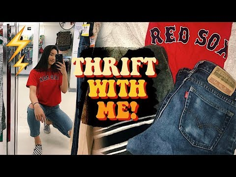 THRIFT WITH ME | Best Thrifting Trip Ever + Haul!!
