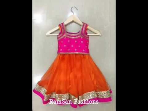 f4a39938d6 Baby Girl's Lehenga designs 2018 RamSan Fashions - YouTube