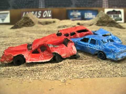 demolition derby model car
