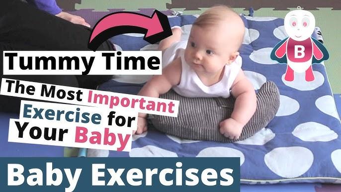 757de1d235d3 Baby exercises 0-3 months - YouTube