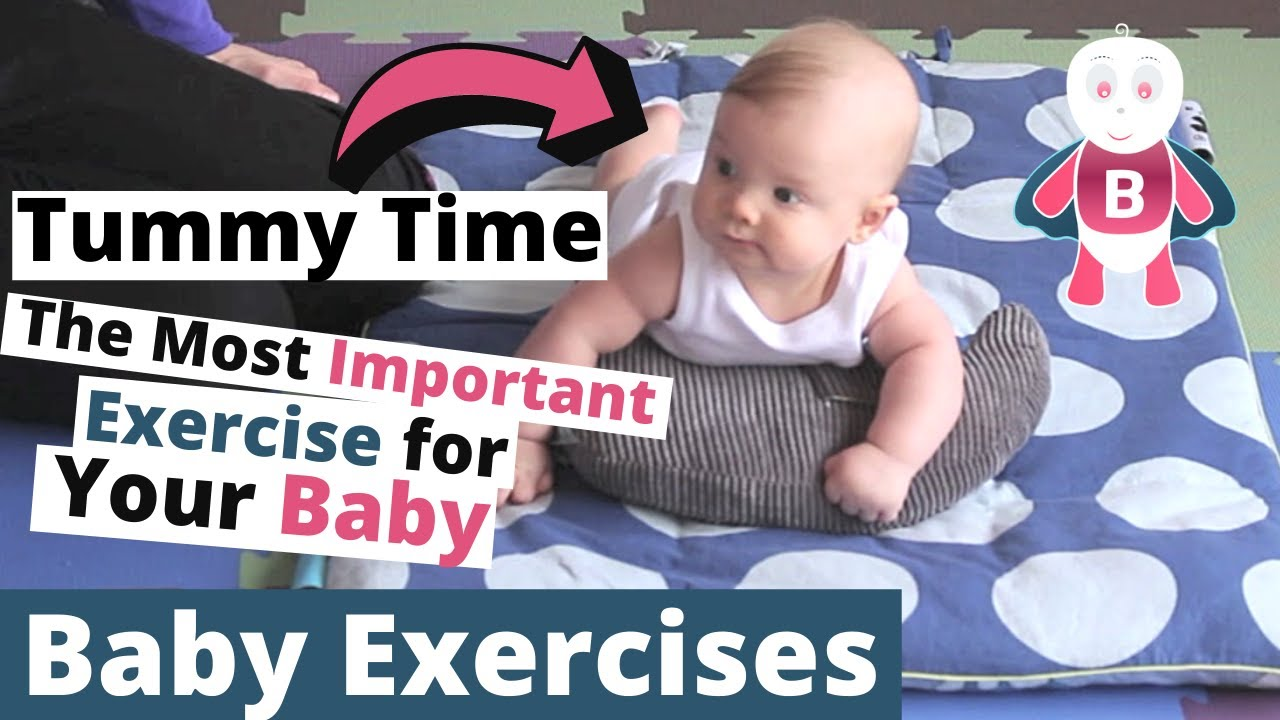 How To Do Tummy Time Baby Playtime Exercises 0 3 Months