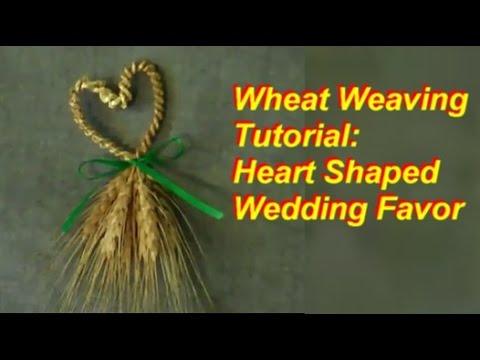 Wheat Weaving: Heart-shaped
