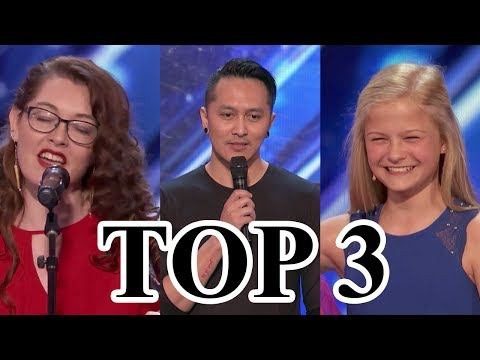 Thumbnail: TOP 3 BEST Auditions America's Got Talent 2017