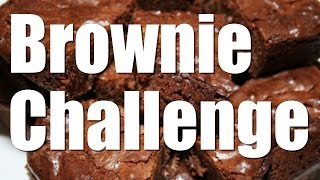 The Brownie Challenge - Get That Protein
