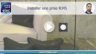 Comment raccorder une prise RJ45 ?