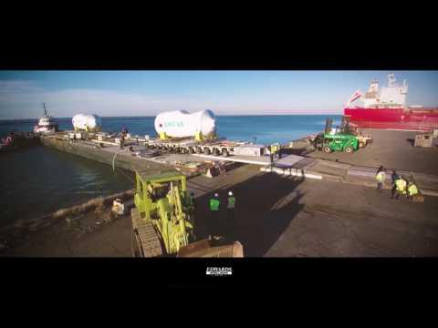 Barge Offload