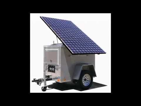Solar Powered Motor Generator