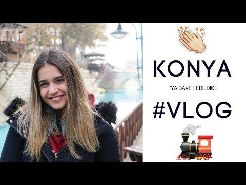 KONYA'DA BİR GÜN GEÇİRMEK! | HIZLI TREN, ETLİEKMEK, VLOG #3