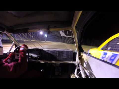 Dog Hollow Speedway 6/27/14 Four cylinder Feature Part 2 of 4