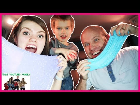 Making Slime In The Car / That YouTub3 Family