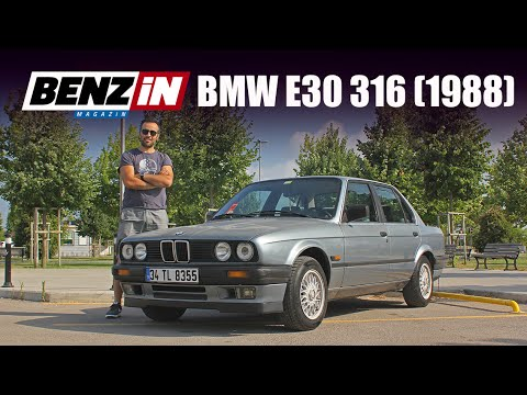 Burak Ertem'in BMW E30 316'sı