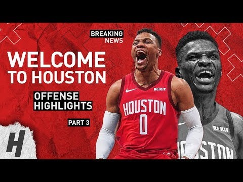 BREAKING: Russell Westbrook TRADED to the Rockets BEST Highlights from 2018-19 NBA Season Part 3