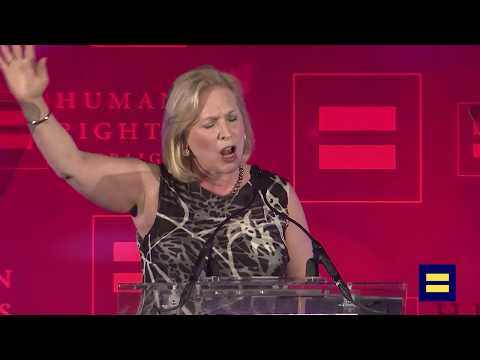 New York Senator Kirsten Gillibrand Speaks at HRC's NYC Dinner