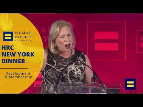 New York Senator Kirsten Gillibrand Speaks at HRC