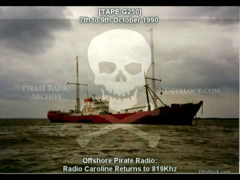 [G250-EDIT] Radio Caroline 819 ~ 07-09/10/1990 Offshore Pirate Radio
