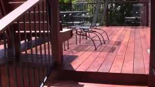 Mangaris Back Yard Patio Deck Designed And Built By Neal Franson