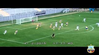 Friendly match. Antalia. 04.02.2015. FC Astana (KAZ) - Bunyodkor (UZB) 1-0