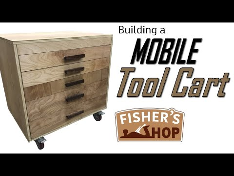 Shop Work:  Building A Mobile Tool Cart