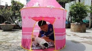 Trò Chơi Bé Pin Làm Nhà Công Chúa ❤ ChiChi ToysReview TV ❤ Đồ Chơi Trẻ Em Baby Doli Bài Hát Vần Thơ