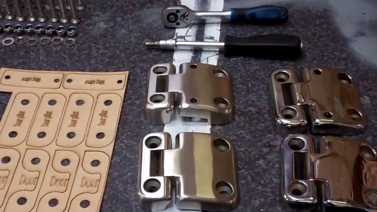 Land Rover Defender Door Hinge Upgrade To Stainless Steel