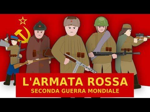 L'ARMATA ROSSA nella Seconda Guerra Mondiale