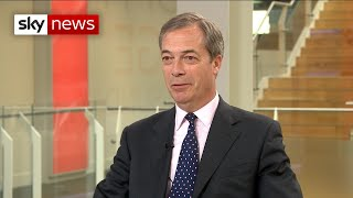 Farage to stand as an MP at next general election