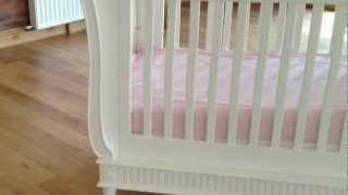 Bambizi Belle Sleigh Cot Bed