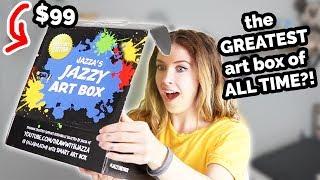 A $99 ART BOX?!?! This is INSANE!!