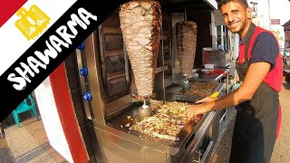BEST SHAWARMA CAIRO // Egyptian street food // شاورما في مصر