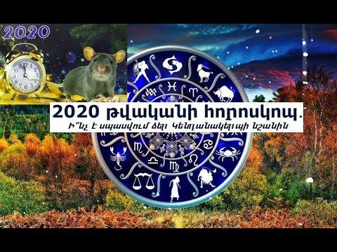 2020 թվականի հորոսկոպ․ Ի՞նչ է սպասվում ձեր Կենդանակերպի նշանին