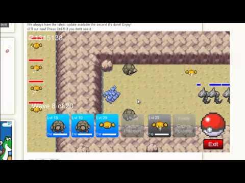 Pokemon Tower Defense: Challenge Level 3- Pokedex