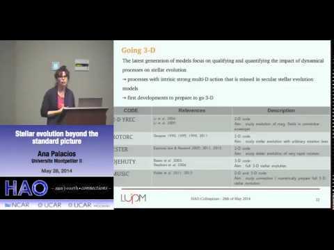 Ana Palacios | University Montpellier | Stellar evolution beyond the standard picture