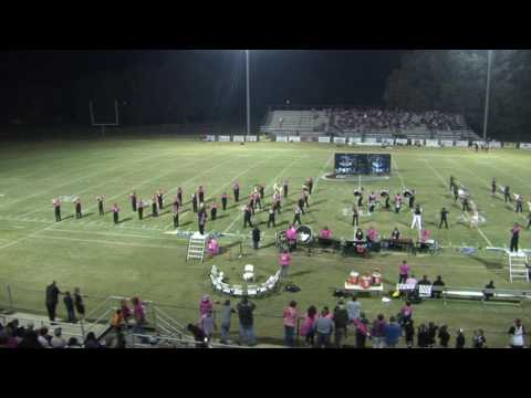 Crockett County High School Marching Band Oct, 28 2016