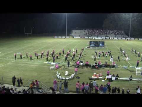 Crockett County High School Marching Band Oct, 28 2016