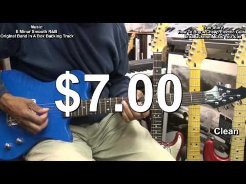 True Story! Shopping For  A Cheap Electric Guitar EEMusicLIVE