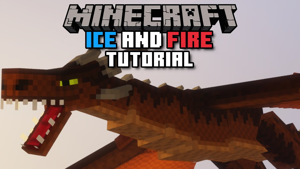 How to Install/Update/Delete Ice and Fire Mod Minecraft YouTube