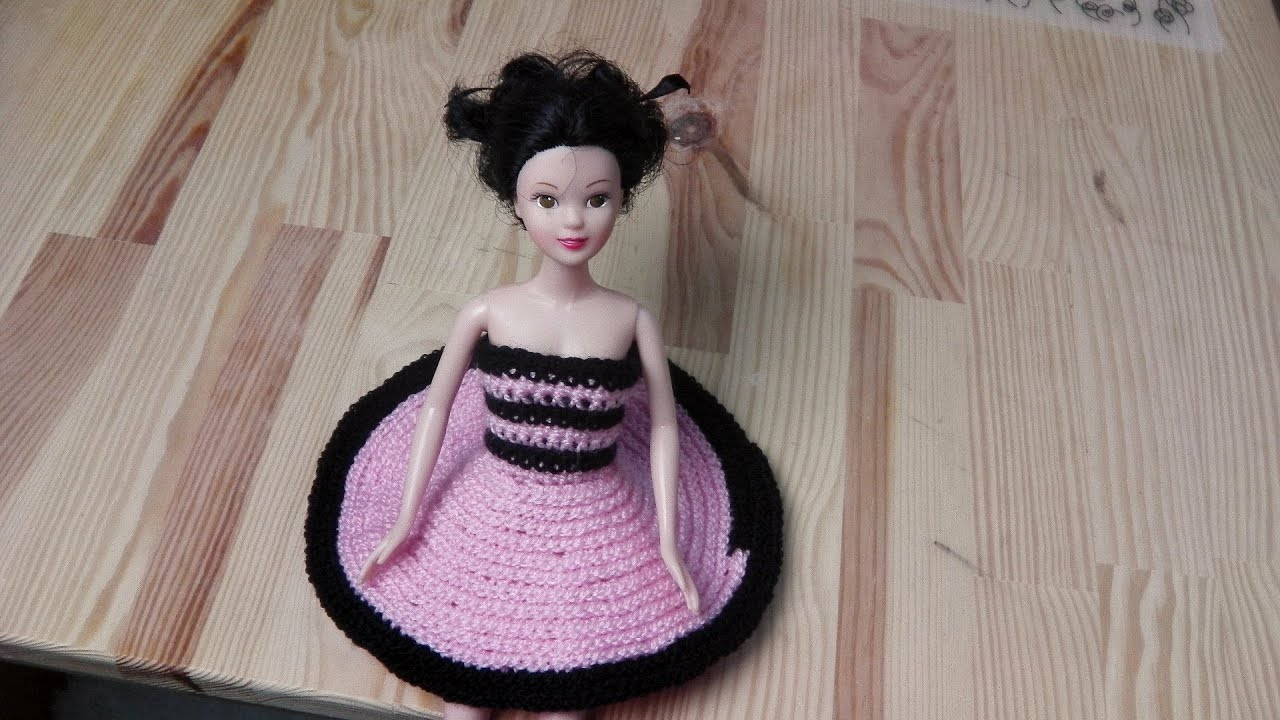 Teller Kleid Petticoat Linkshänder Häkelanleitung Youtube