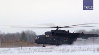 Тренировочные полеты Ми 8 при низких температурах
