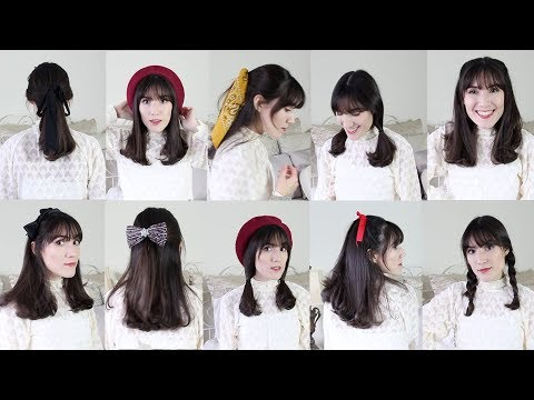 My Go to Hairstyles for Bangs