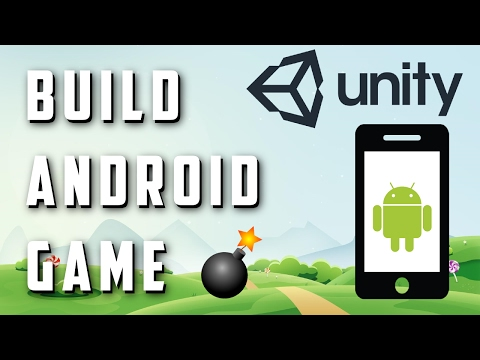 How to make a game in unity for android