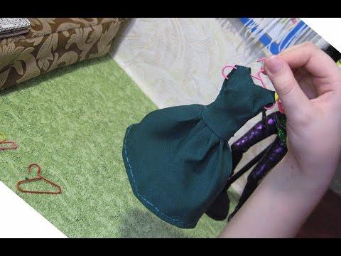 Сделать своими руками вешалка для барби