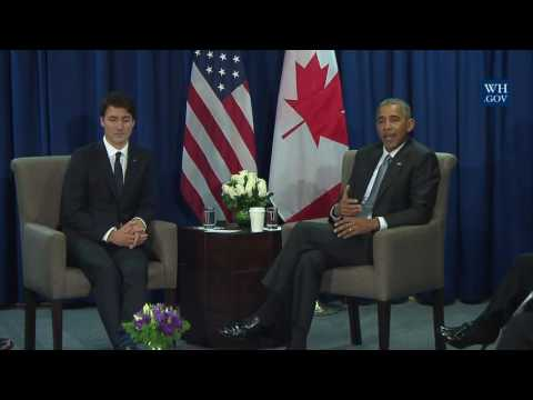 President Obama and Prime Minister Trudeau