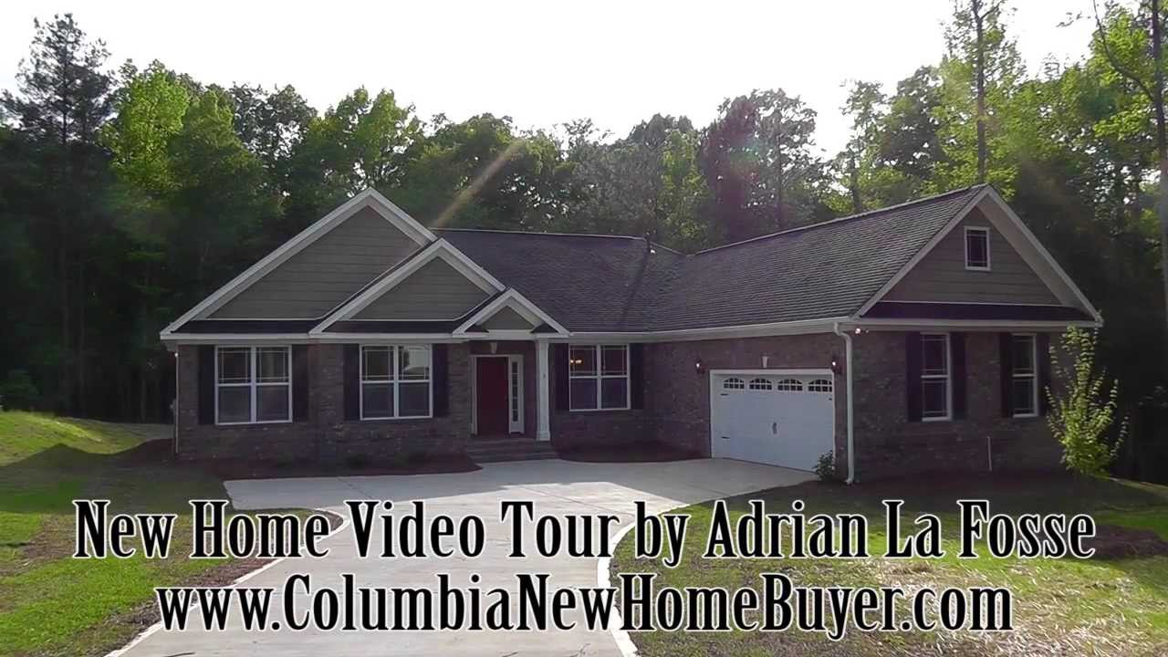 Fortress builders custom one story new home in columbia sc for Custom single story homes