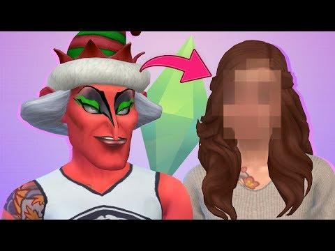 The Sims 4: Reto de Feo a Guapo | Especial 100k Suscriptores!