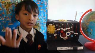 Solar System by Zahin Adib (Science Project)